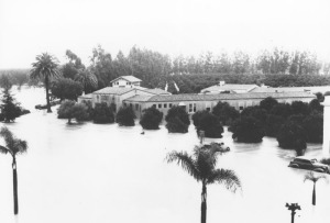 The 1938 flood in Orange County.